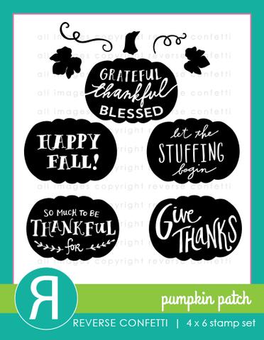 Reverse Confetti - Pumpkin Patch Stamp Set