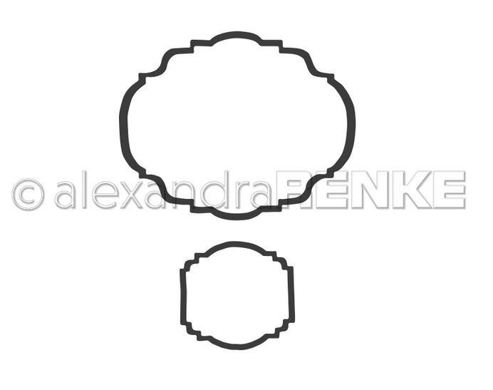 Alexandra Renke - Label Frame Die