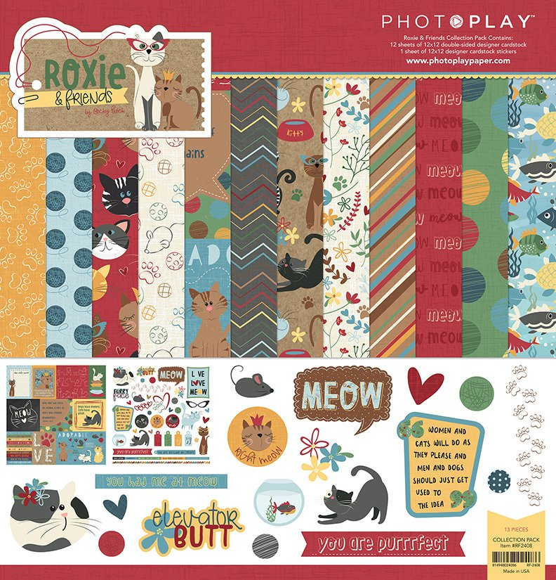 Photo Play - Roxie & Friends Collection Pack