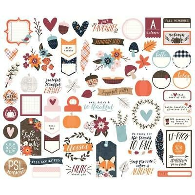 Simple Stories - Forever Fall Die Cuts