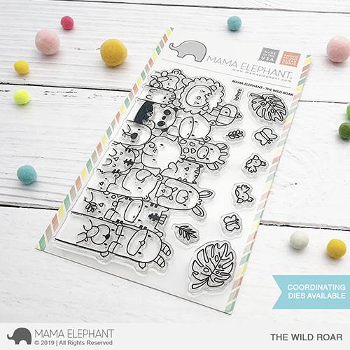 Mama Elephant - The Wild Roar Stamp Set