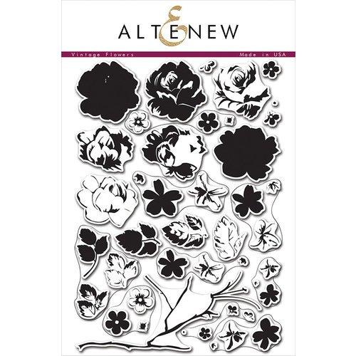 Altenew - Vintage Flowers Stamp Set