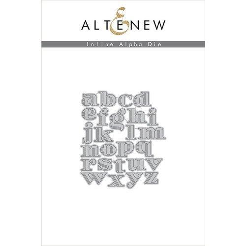 Altenew - Inline Alph Die Set