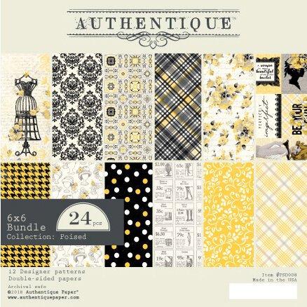 Authentique - Poised Paper Pad 6x6