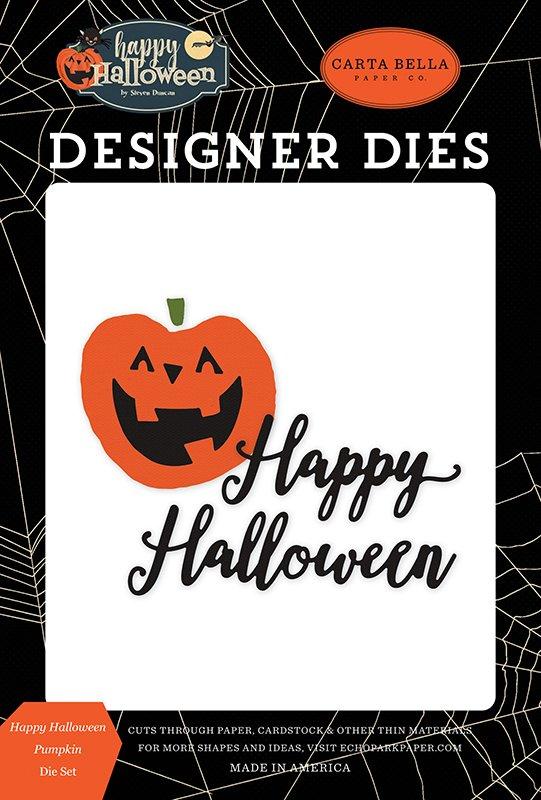 Carta Bella Paper Co. - Happy Halloween Pumpkin Die Set