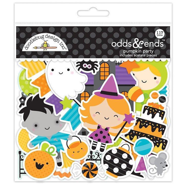 Doodlebug Designs - Pumpkin Party Odds & Ends