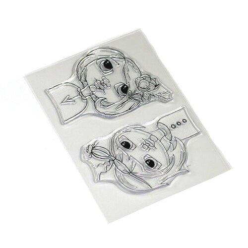 Elizabeth Crafts - Floral Girls Stamp Set