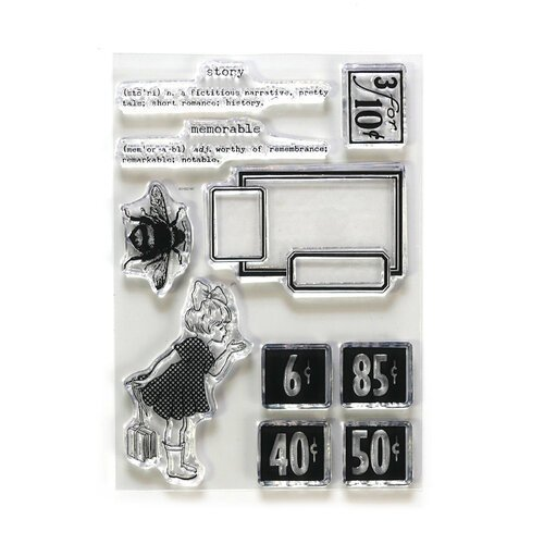Elizabeth Craft Designs - Memorable Stamp Set