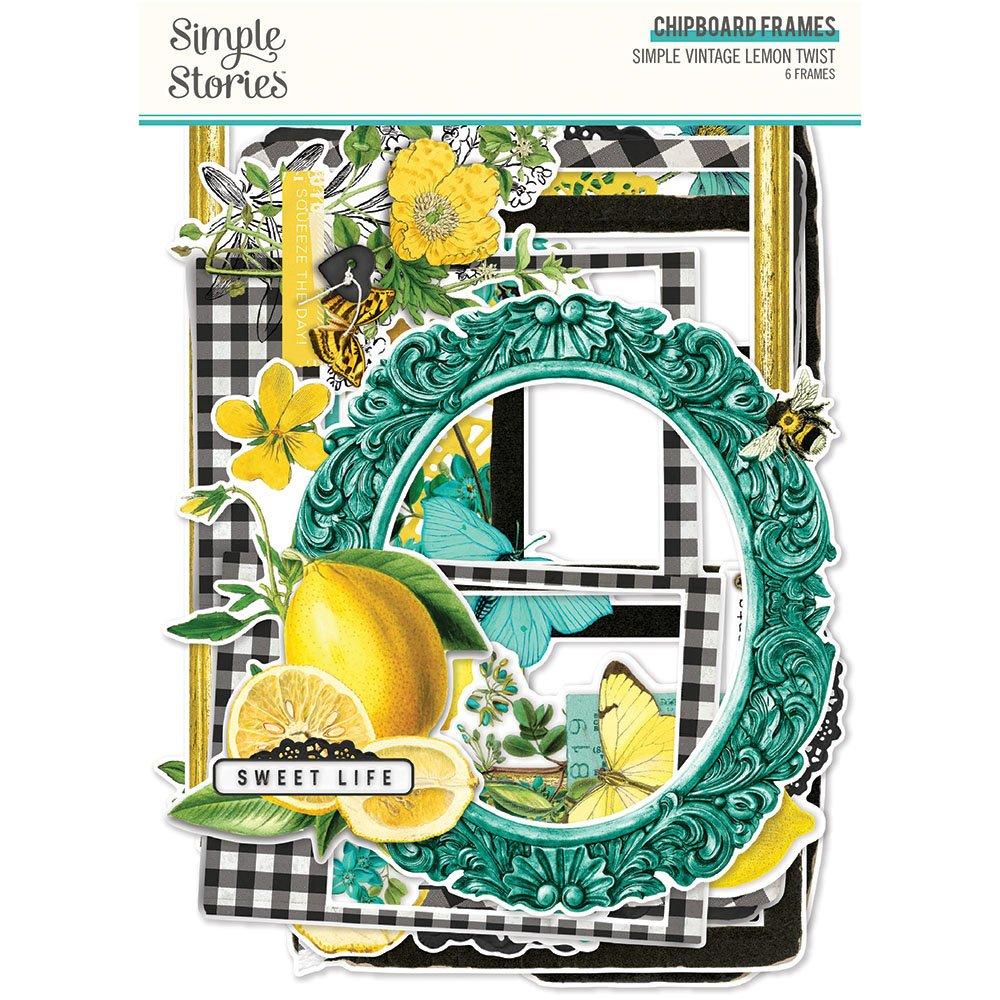 Simple Stories - Lemon Twist Frames