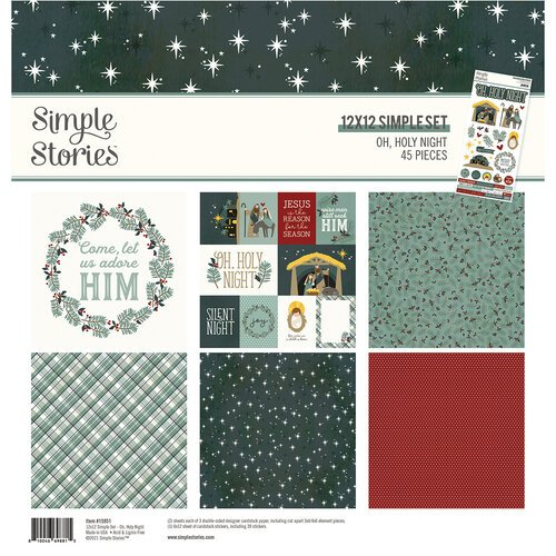 Simple Stories - Oh, Holy Night Collection Kit