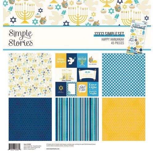 Simple Stories - Happy Hanukkah Collection Kit 12x12