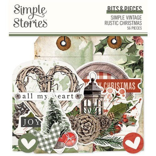 Simple Stories - Simple Vintage Rustic Christmas Collection Bits & Pieces