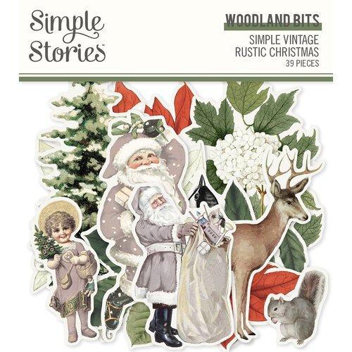 Simple Stories - Simple Vintage Rustic Christmas Woodland Bits & Pieces