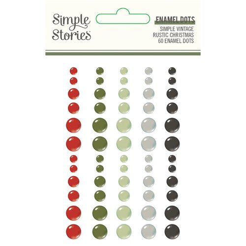 Simple Storis - Simple Vintage Rustic Christmas Enamel Dots
