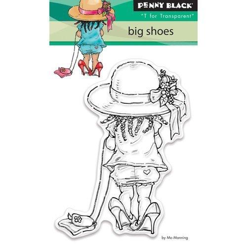 Penny Black - Big Shoes Stamp