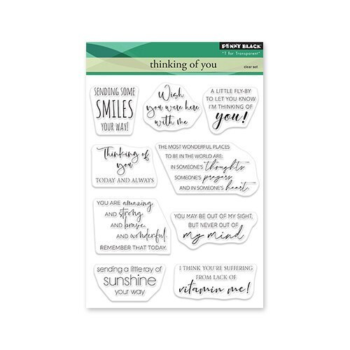 Penny Black - Thinking of You Stamp Set