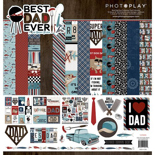 Photo Play - Best Dad Ever Collection Pack