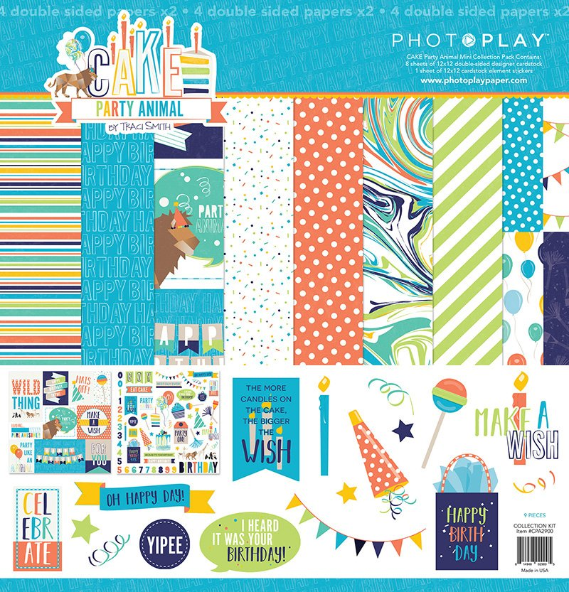 Photo Play - Party Animal Collection Pack