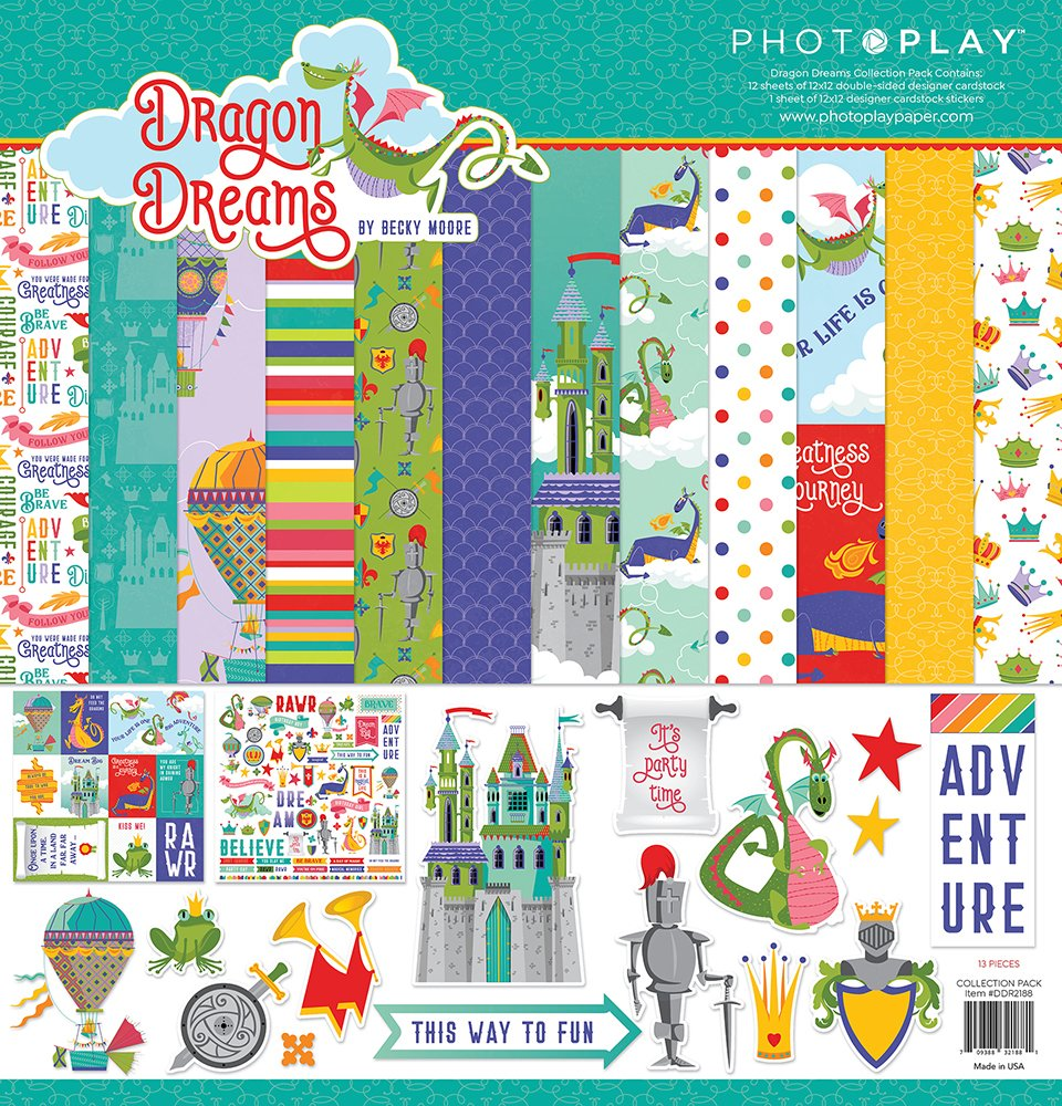 Photo Play - Dragon Dreams Collection Pack