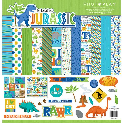 Photo Play - Jurassic Collection Pack