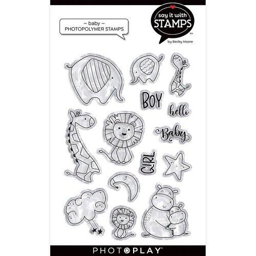 Photo Play - Baby Hugs & Kisses Stamp Set