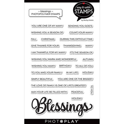 Photo Play - Blessings Stamp Set