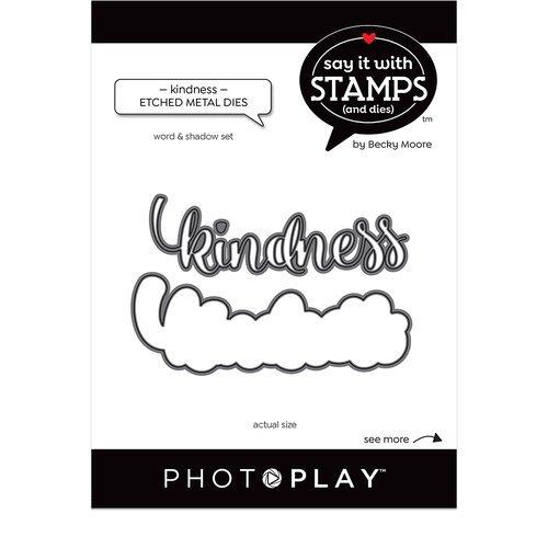 Photo Play - Kindness Word Die