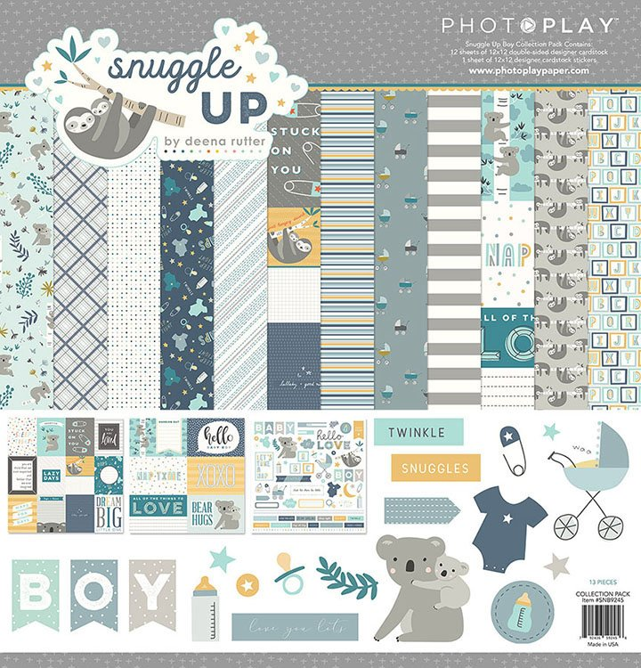 Photo Play - Snuggle Up Collection Pack (boy)