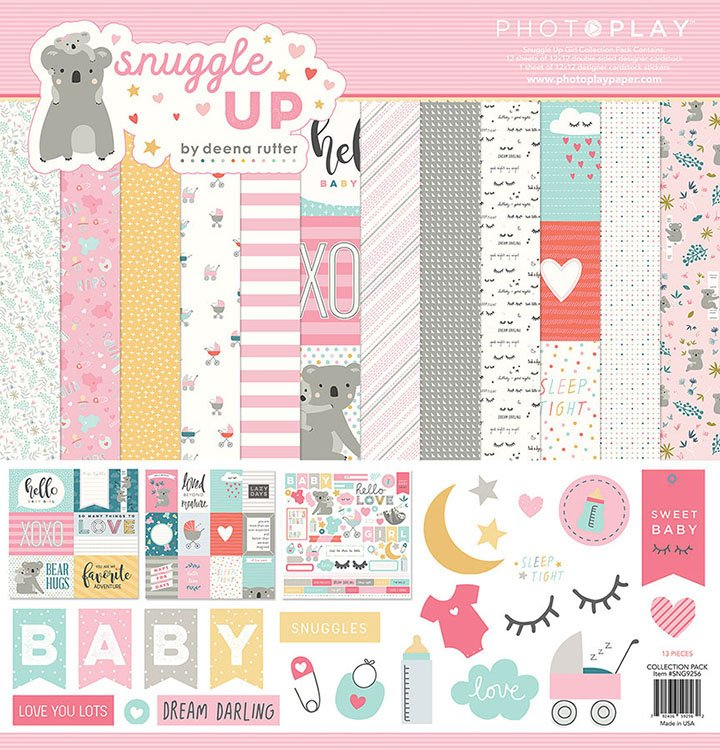 Photo Play - Snuggle Up Collection Pack (girl)