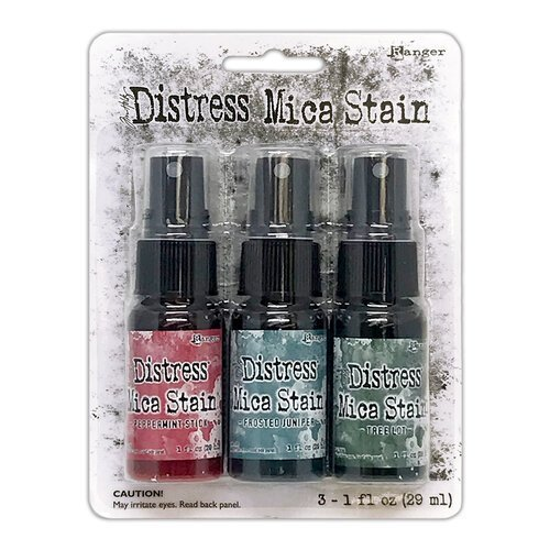 Tim Holtz - Holiday #1 Distress Mica Stain Set
