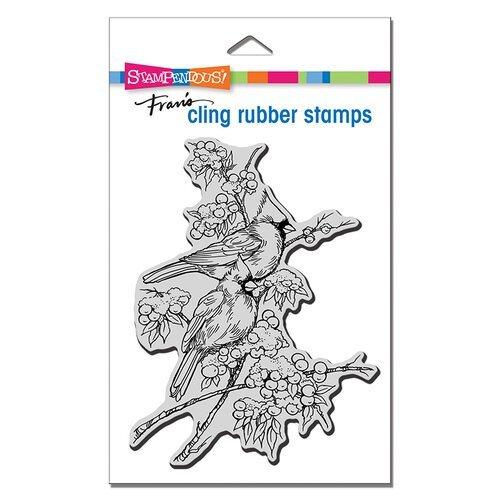 Stampendous - Cardinal Pair Cling Stamp