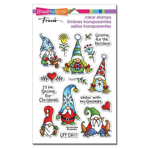 Stampendous - Holiday Gnomes Stamp Set