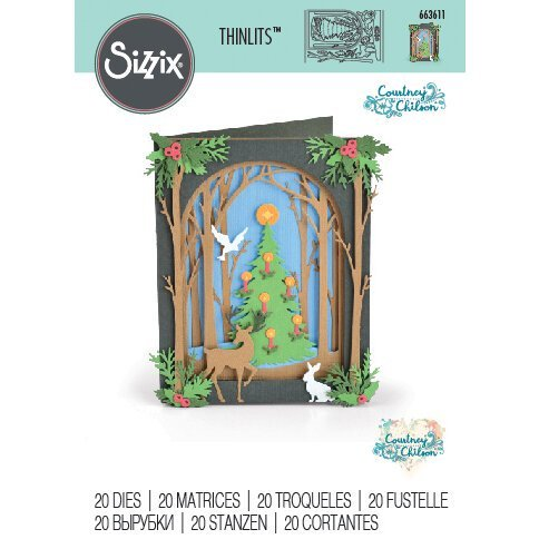 Sizzix - Christmas Shadow Box Die