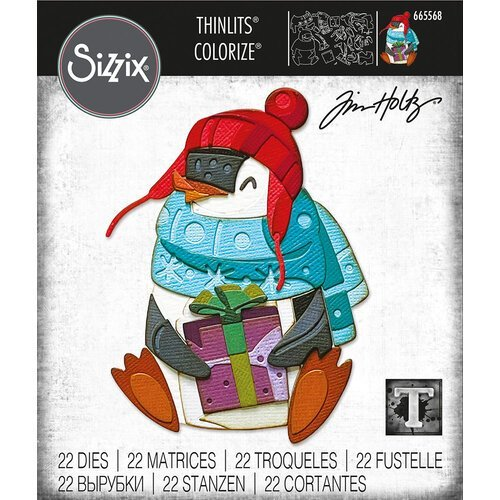 Sizzix - Eugene Colorize Thinlints Die by Tim Holtz