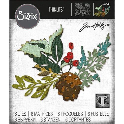Sizzix - Holiday Brushstroke #2 Thinlits Die by Tim Holtz