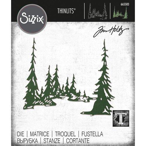 Sizzix - Tall Pines Thinlits Die by Tim Holtz