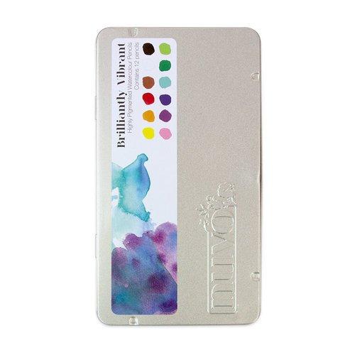 Nuvo - Watercolor Pencils Brilliantly Vibrant Set (12 count)