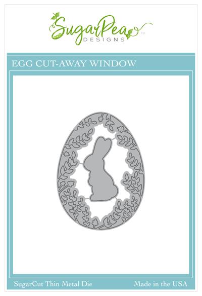 Sugar Pea Designs - Egg Cut-Away Window Die