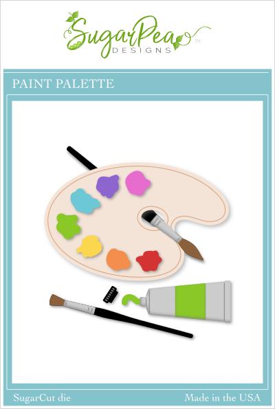 Sugar Pea Designs - Paint Palette Die