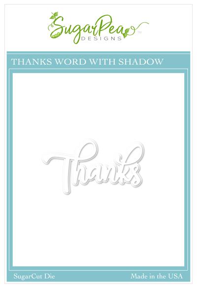 Sugar Pea Designs - Thanks Shadow Word Die