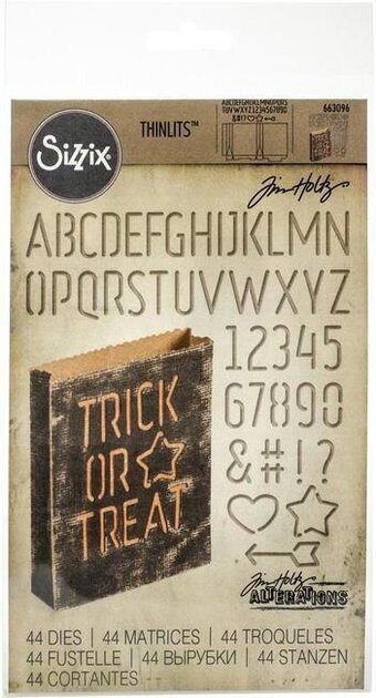 Sizzix - Tim Holtz Halloween Treat Bag Die