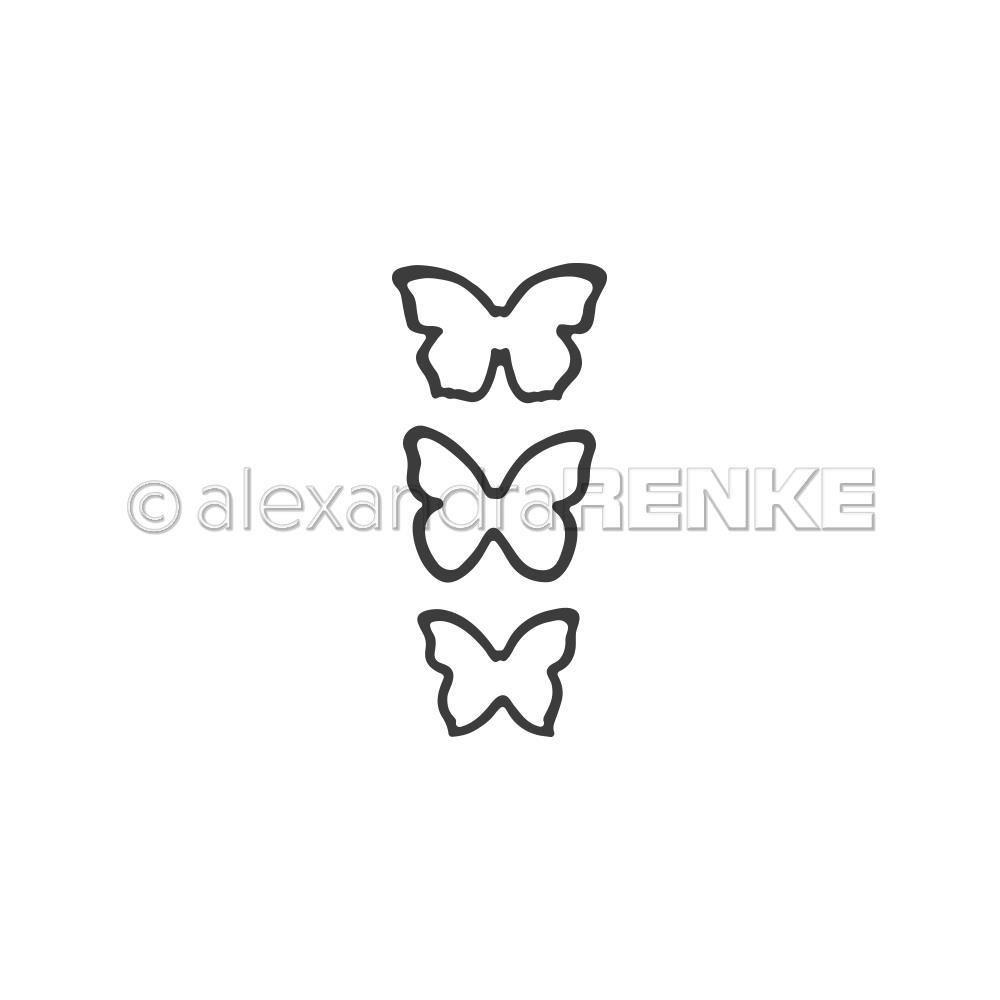 Alexandra Renke - 3 Small Butterflies Die