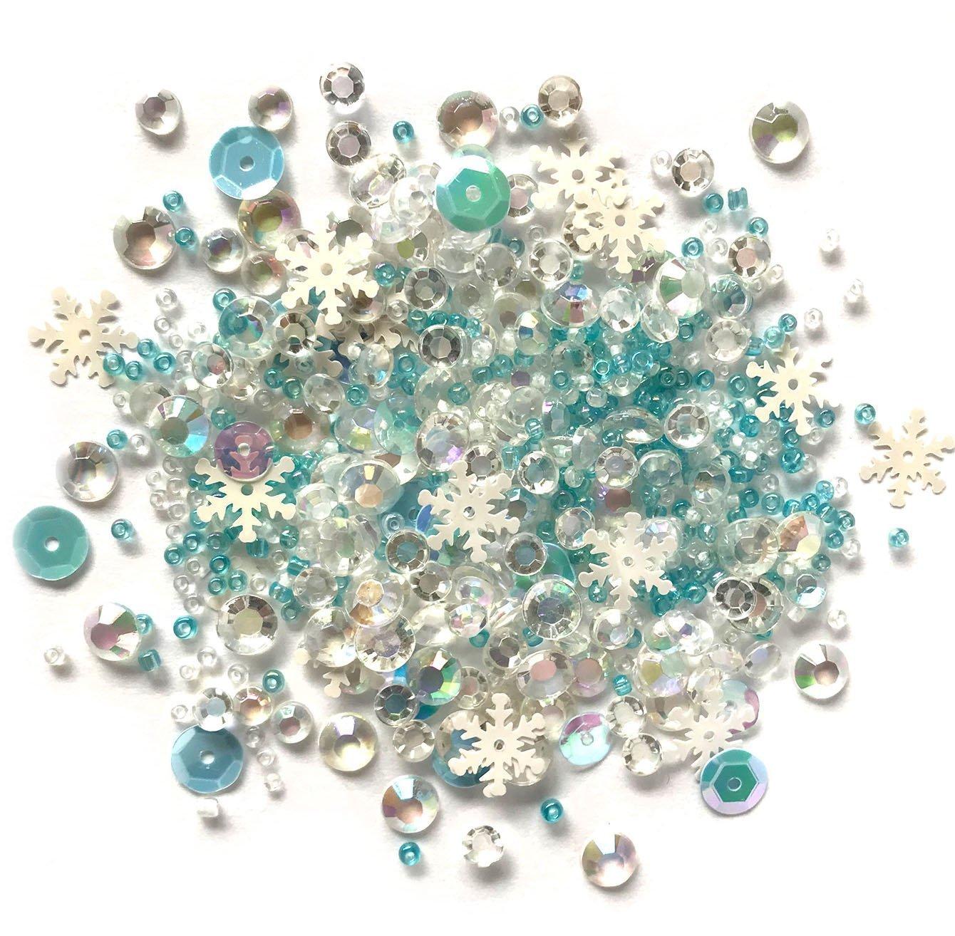 Buttons Galore - Sparkletz: Snow Crystals