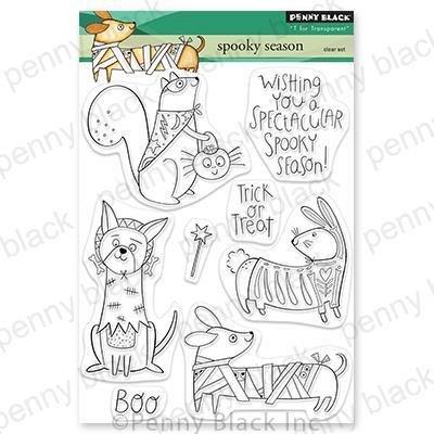 Penny Black - Spooky Season Stamp Set