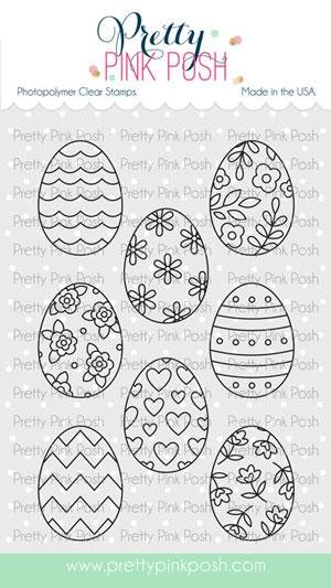 PPP - Spring Eggs Stamp Set