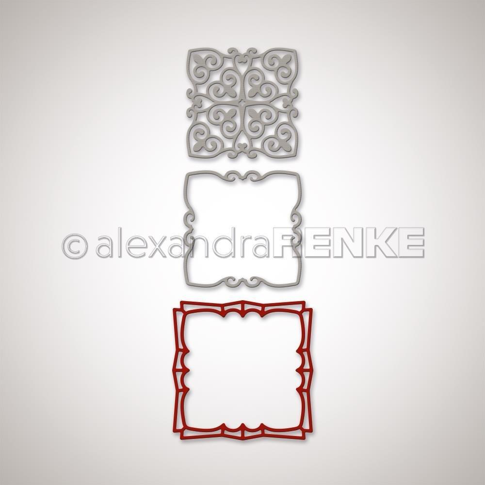 Alexandra Renke - Square Shaped Ornament Die