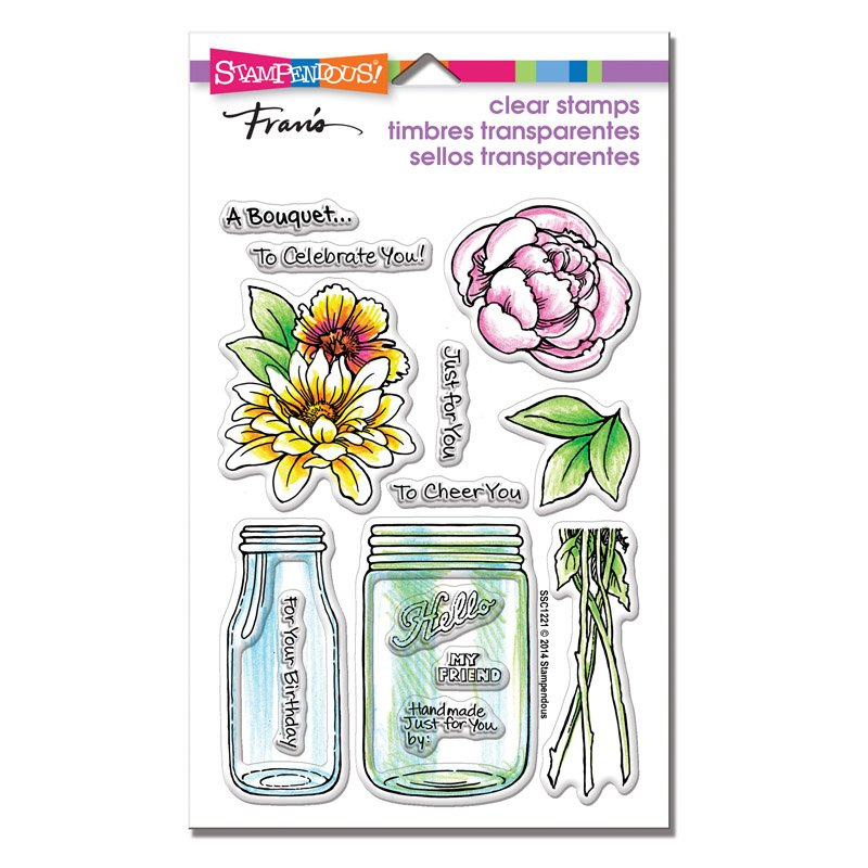 Stampendous - Bouquet For You Stamp Set