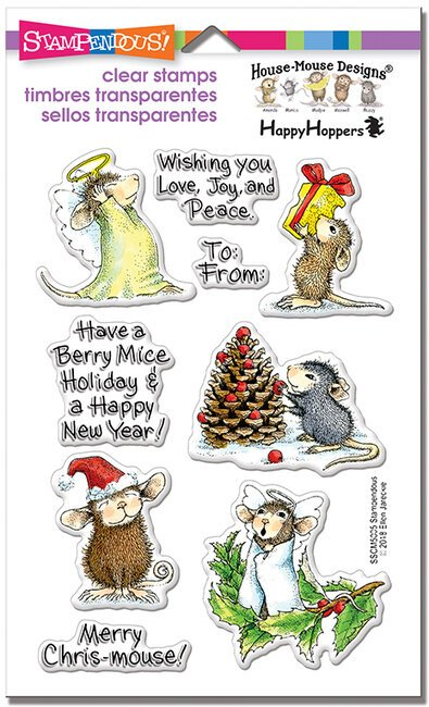 House Mouse - Merry Mice Stamp Set