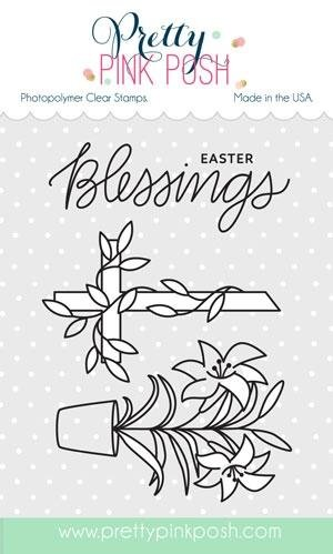 Pretty Pink Posh - Easter Blessings Stamp Set