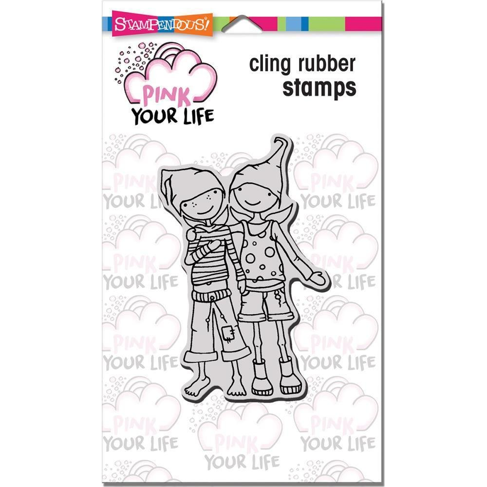 Stampendous - Whisper Friends Cling Stamp